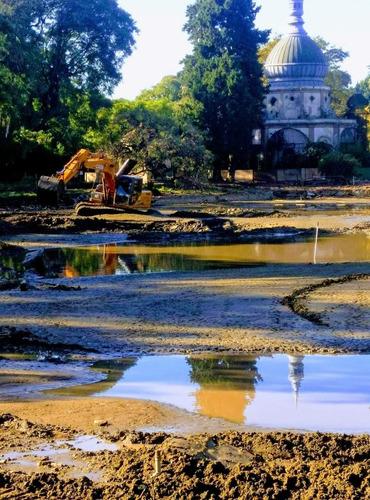 construcción e impermeabilizacion - lagos y lagunas