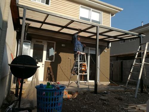 construcción en general y rejas,portones,cobertizos y otros.