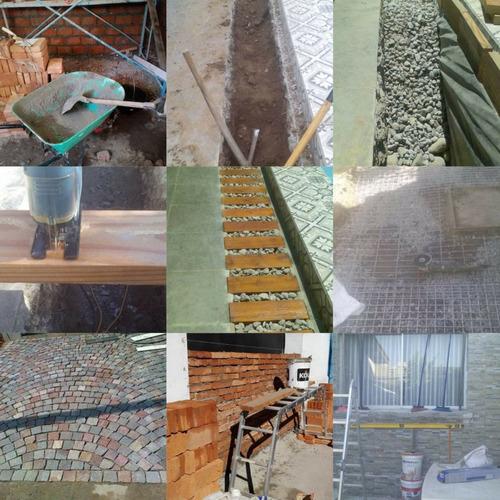 construcción en obras menores (albañil, ceramista, pintor)