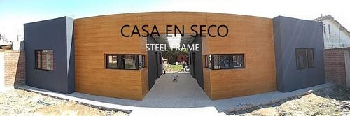 construcción en seco, construcción steel framing, viviendas