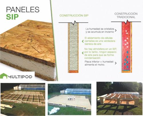 construcción en seco quinchos aulas/sum/salones multiusos