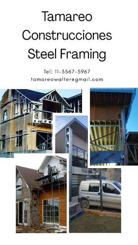construcción en seco. steel framing