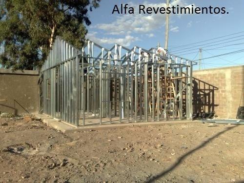 construcción en seco - steel framing - alfa revestimientos.