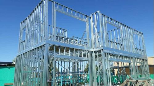 construcción en seco steel framing viviendas industrializada