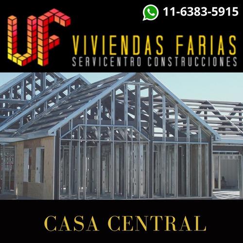 construcción en seco, steel framing y terrazas