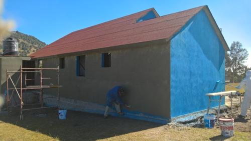 construccion en seco y ligera tipo americana prefabricada