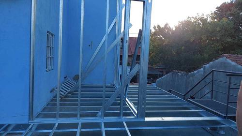 construccion en steel framing obra gris