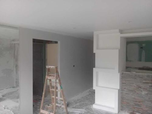 construcción en yeso