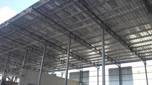 construccion galpón, tinglado, cubiertas, estructuras.