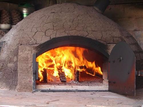 Construccion hornos de barro parrilleros estufas planos - Materiales para hacer un horno de lena ...
