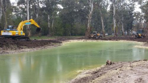 construcción impermeabilizacion - lagos, lagunas - bentonita