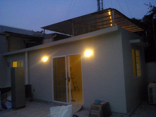 construcción ligera prefabricada ampliacion casas azotea