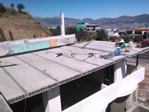 construccion losas prefabricadas alivianadas techart