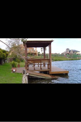 construcción muelles estacadas pergolas deck