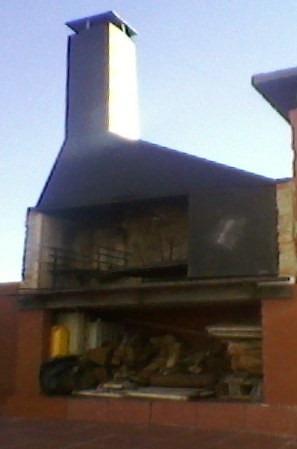 construcción parrilleros hornos y estufas a leña ladr en 48h