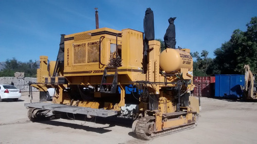 construcción pavimentadoras maquinaria