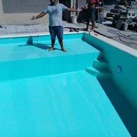 construccion piletas de material 6x3   piscina  $95.000