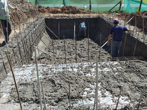construcción piscinas hormigón proyectado financión propia
