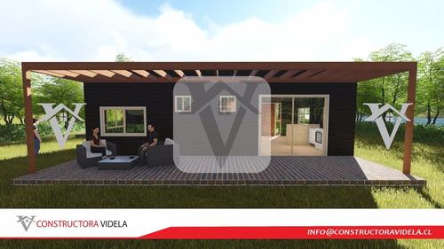 construcción prefabricada casa