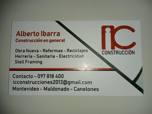 construcción reformas y obra nueva