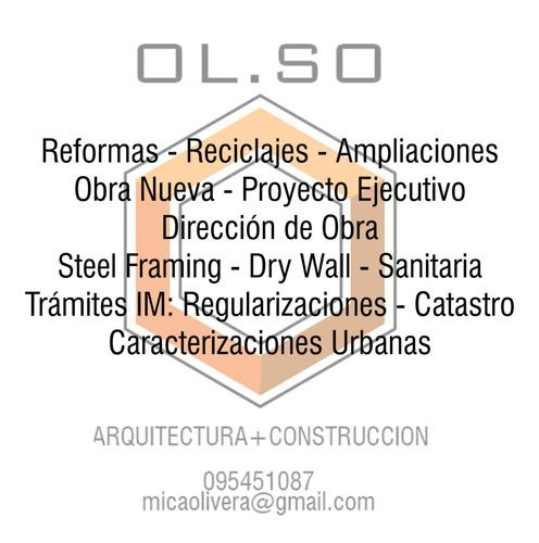 construcción: reformas y obra nueva - trámites ante im