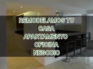 construcción remodelación electricidad yeso baños pisos