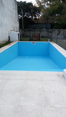 construcción, reparación, renovación de piletas de natación