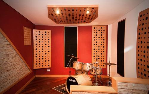 construccion salas de ensayo tratamiento acustico restaurant