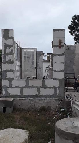 construcción semiseca con bloques hormigón celular