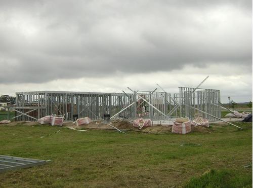 construccion steel frame framing valor por m2