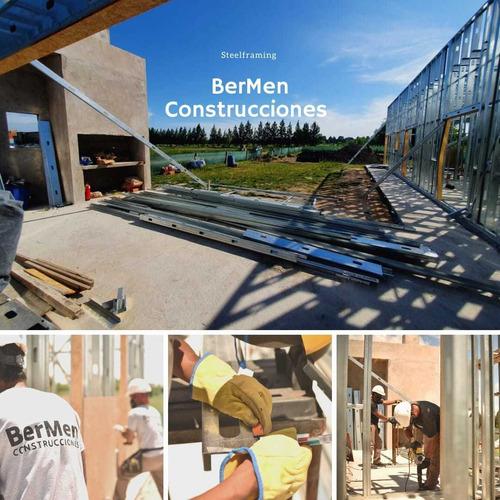 construcción steel framing arquitectura obra (a convenir)