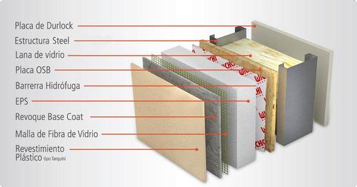 construcción steel framing, casas y/o ampliaciones, garages.