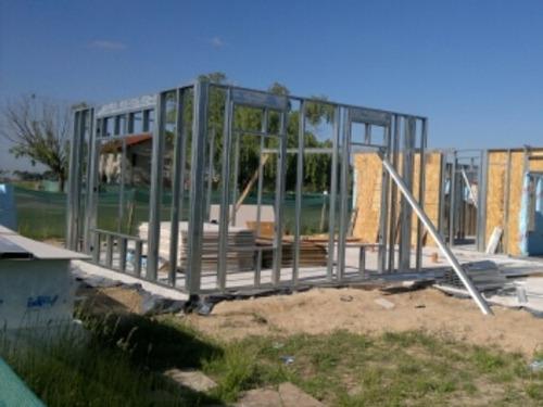 construcción steel framing llave en mano zona norte/sur
