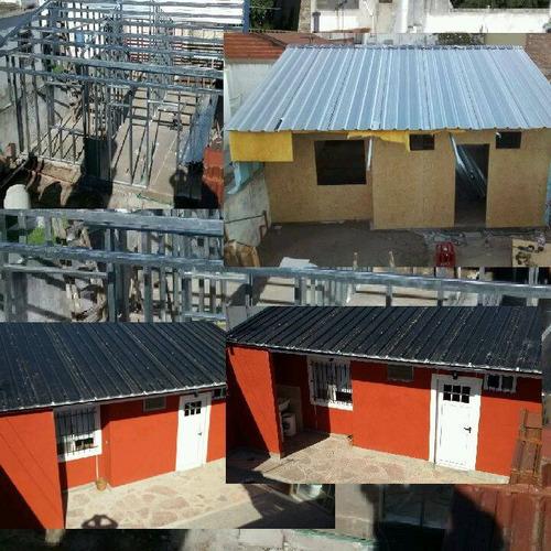 construccion tabique exterior steel eco m2 terraza quincho