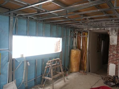construccion tabique exterior steel framing obra gris m² jb