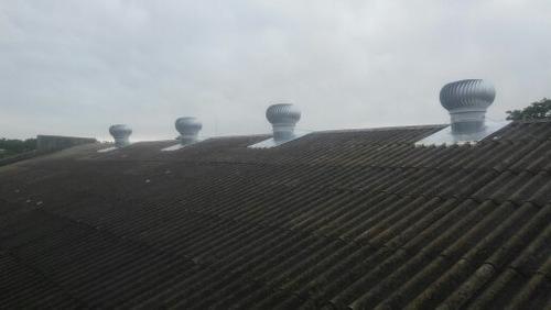 construcción techos galpones