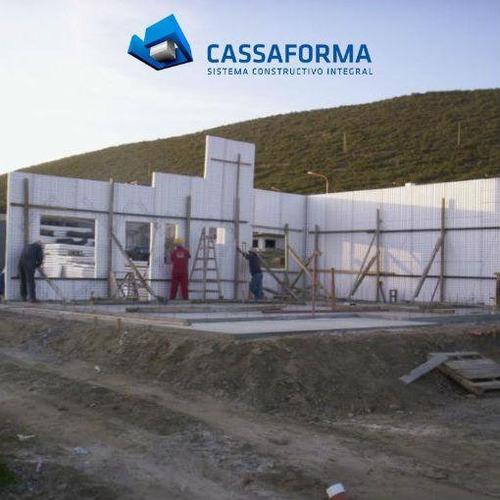 construcción viviendas hormigón proyectado concrehaus diedra