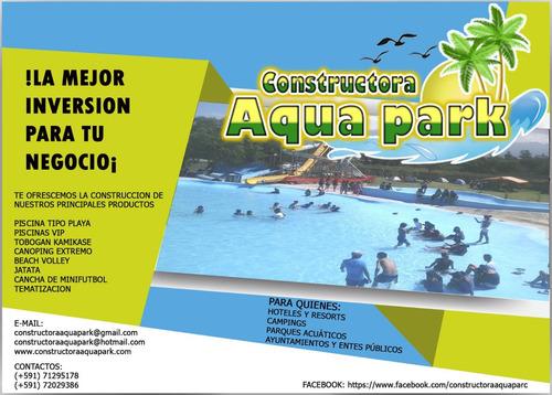 construccion y equipo para parques acuaticos