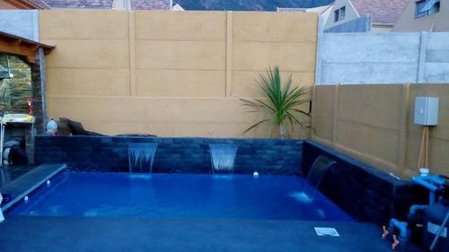 construcción y reparación de piscinas  www.piscinasrjvc.cl