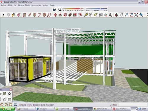 construcciones en frame steel