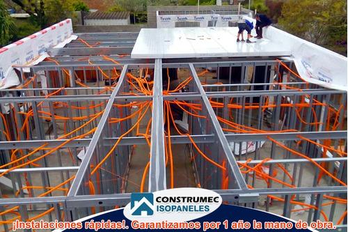 construcciones en isopanel techo y paredes todo el pais