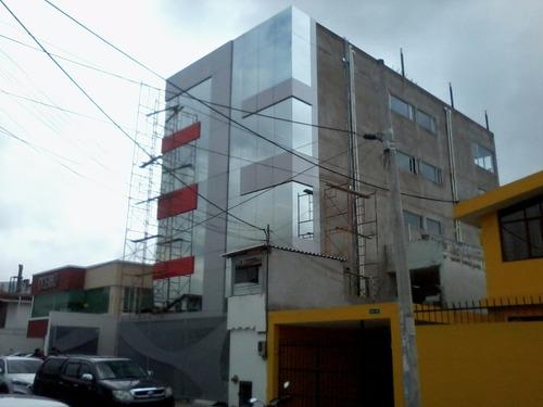 construcciones - estructuras - gypsum - alucobond - pintura