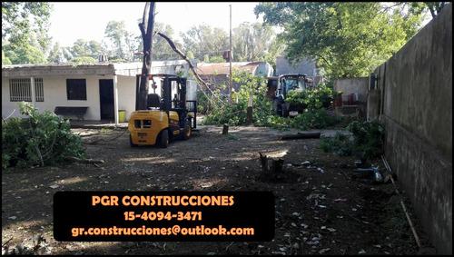 construcciones pgr - reformas - refacciones - planos