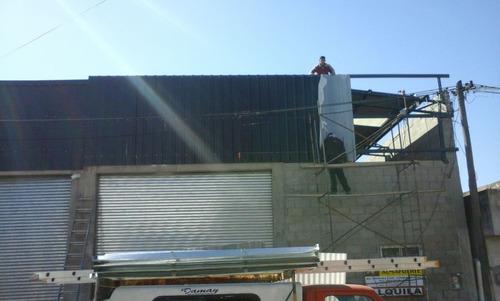 construcciones techos tinglados galpones m.p.