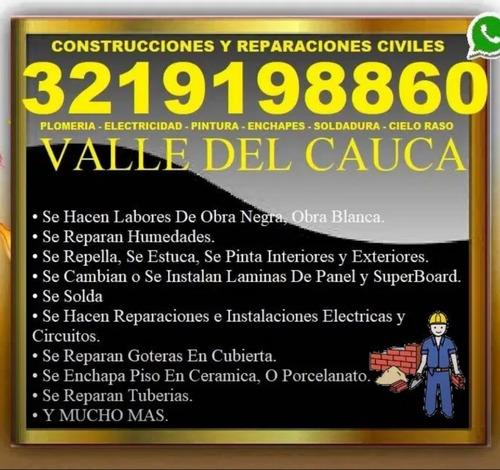 construcciones y reparaciones cali