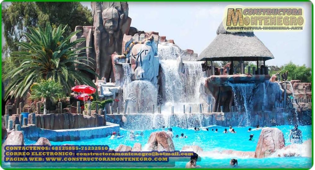 Construcion de piscinas tipo playa y de balnearios - Piscina tipo playa ...