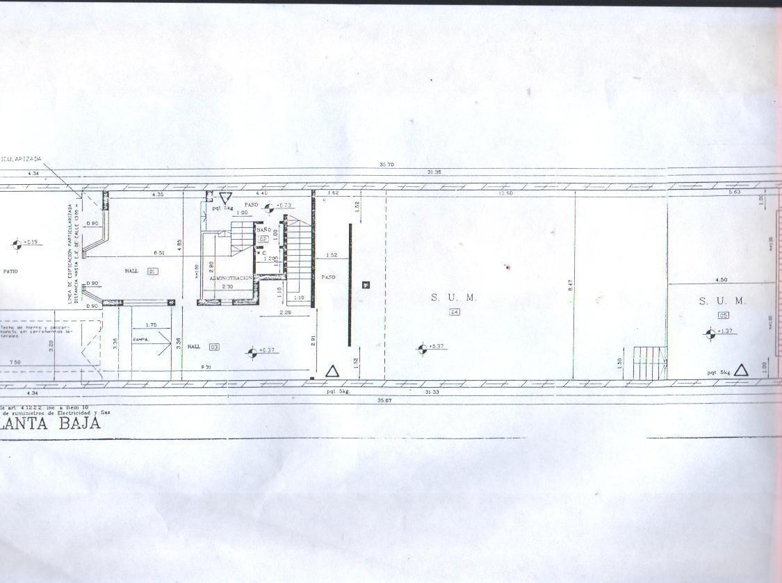 construcnva:480 m2 s/lote 8,66x35,22 larraldeycramer