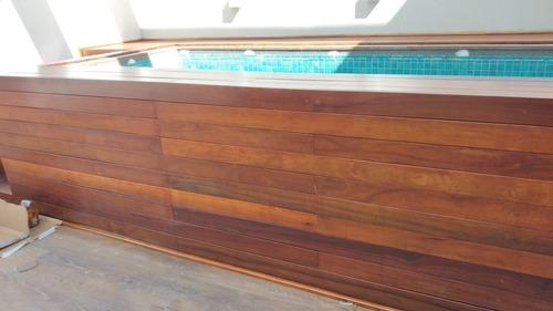 construção de deck em madeira