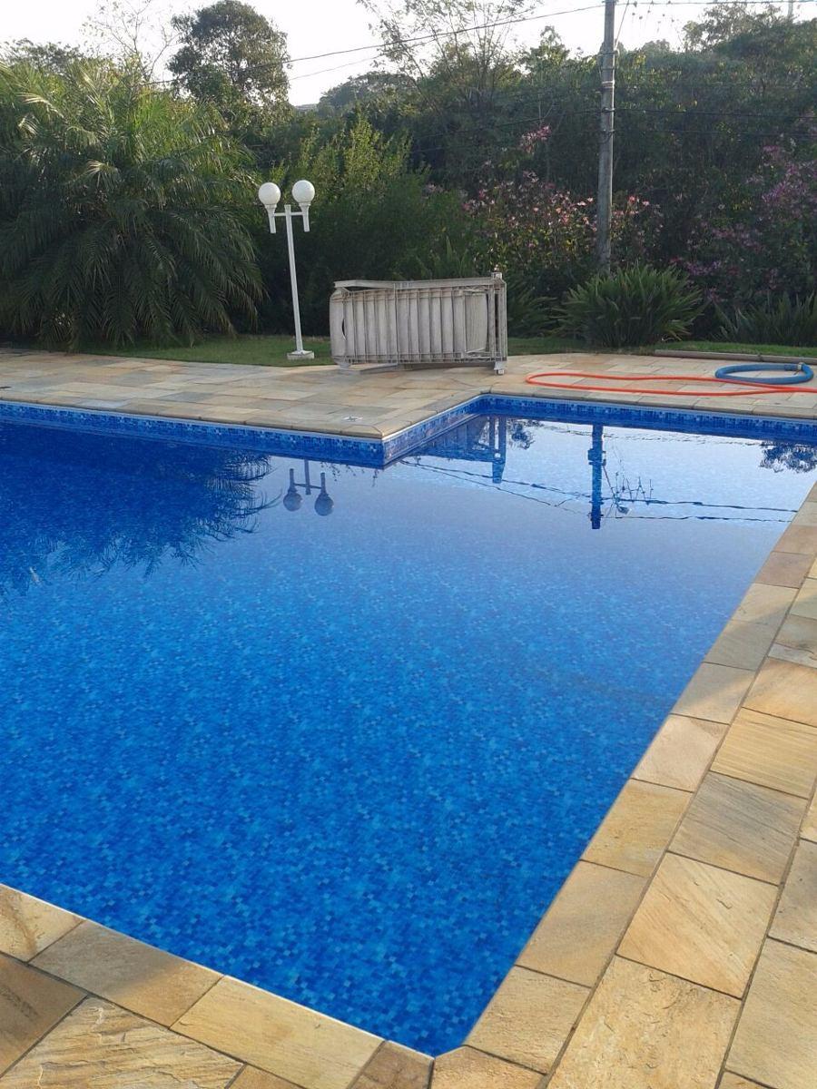 Constru o de piscina de vinil 8 x 4 x em 12x sem for Alberca 8 de julio