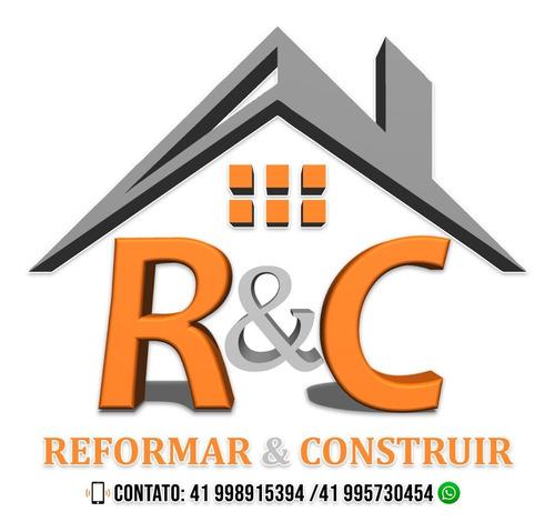 construção e reforma do piso ao teto